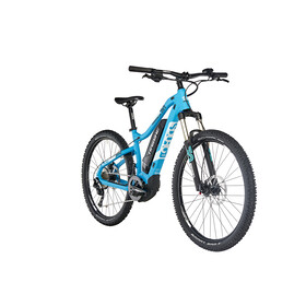 HAIBIKE SDURO HardSeven Life 2.0 Elcykel MTB Hardtail Dam blå